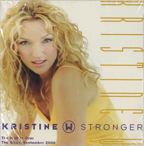 "Kristine W Stronger CD single (CD5 / 5"") US KRWC5ST457958"