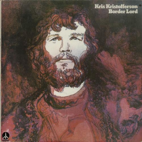 Kris Kristofferson Border Lord vinyl LP album (LP record) New Zealand KRSLPBO616428