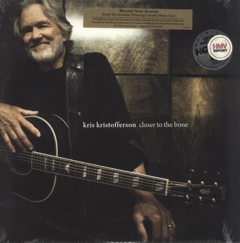 Kris Kristofferson Closer To The Bone - 180gm - Sealed vinyl LP album (LP record) UK KRSLPCL483716