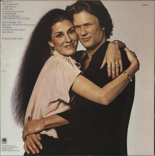 Kris Kristofferson Natural Act vinyl LP album (LP record) UK KRSLPNA705382
