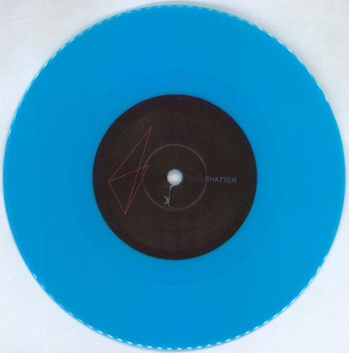 "Krokodil Shatter - RSD14 - Turquoise Blue Vinyl + Numbered Sleeve 7"" vinyl single (7 inch record) Finnish 3TS07SH766281"