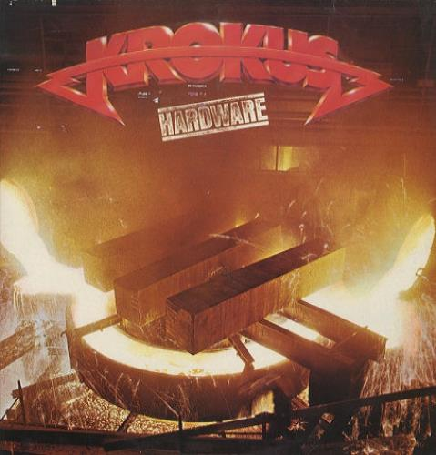 Krokus Hardware vinyl LP album (LP record) UK KROLPHA264349