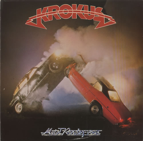 Krokus Metal Rendez-Vous vinyl LP album (LP record) UK KROLPME455038