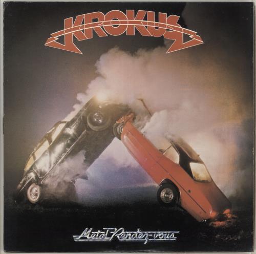 Krokus Metal Rendez-Vous vinyl LP album (LP record) US KROLPME714336