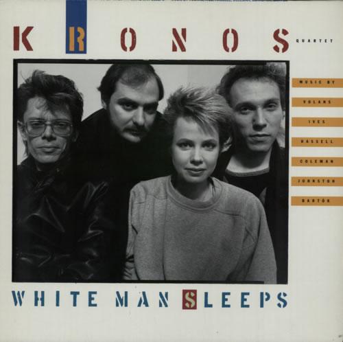 Kronos Quartet White Man Sleeps vinyl LP album (LP record) German KR0LPWH363904