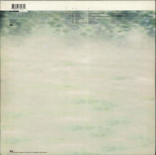 Kruder & Dorfmeister DJ Kicks 2-LP vinyl record set (Double Album) German KB12LDJ710636