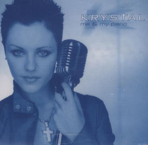 Krystal Me And My Piano CD album (CDLP) US KRYCDME188803