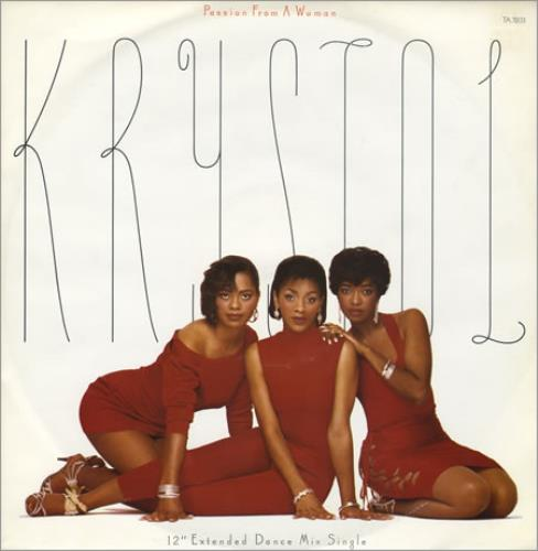 "Krystal Passion From A Woman 12"" vinyl single (12 inch record / Maxi-single) UK KRY12PA391237"