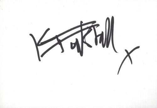 KT Tunstall Autograph memorabilia UK KT-MMAU742592