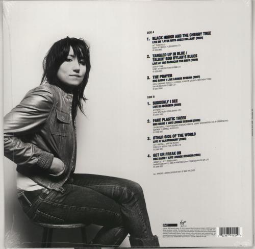 "KT Tunstall BBC Live Sessions - Blue vinyl - sealed 12"" vinyl single (12 inch record / Maxi-single) UK KT-12BB766273"