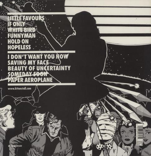 KT Tunstall Drastic Fantastic - 180gram Vinyl vinyl LP album (LP record) UK KT-LPDR419976