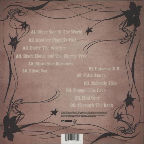 KT Tunstall Eye To The Telescope - 180gm Red Vinyl vinyl LP album (LP record) UK KT-LPEY751718
