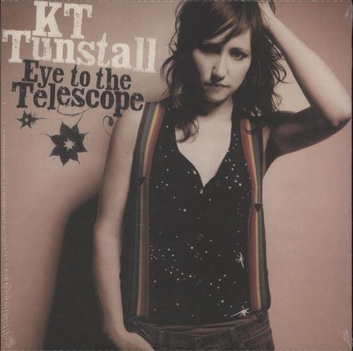 KT Tunstall Eye To The Telescope - 180gram Red Vinyl - Sealed vinyl LP album (LP record) UK KT-LPEY715858