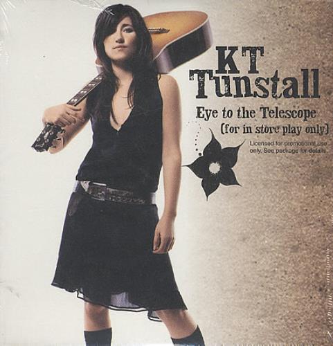 KT Tunstall Eye To The Telescope CD album (CDLP) US KT-CDEY395314