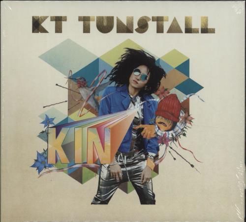 KT Tunstall KIN - Sealed CD album (CDLP) UK KT-CDKI663348