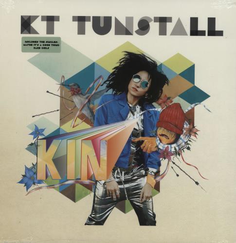 KT Tunstall Kin - Sealed vinyl LP album (LP record) UK KT-LPKI754961