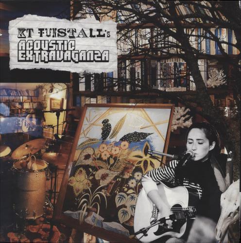 KT Tunstall KT Tunstall's Acoustic Extravaganza - Red & Yellow Vinyl vinyl LP album (LP record) UK KT-LPKT750380