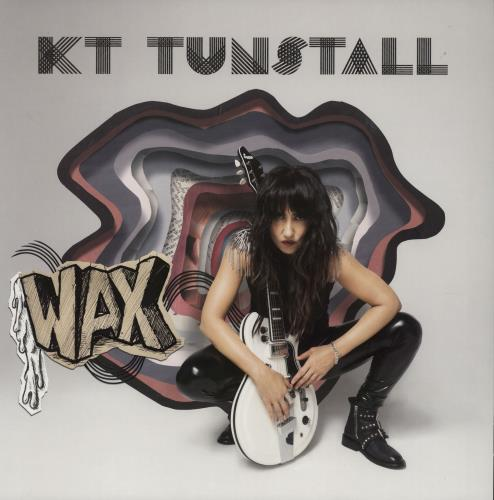 KT Tunstall Wax - Pink Vinyl vinyl LP album (LP record) UK KT-LPWA750712