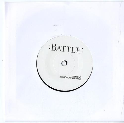 "Kubichek Nightjoy / Demons - Remixes 7"" vinyl single (7 inch record) UK KB807NI626135"