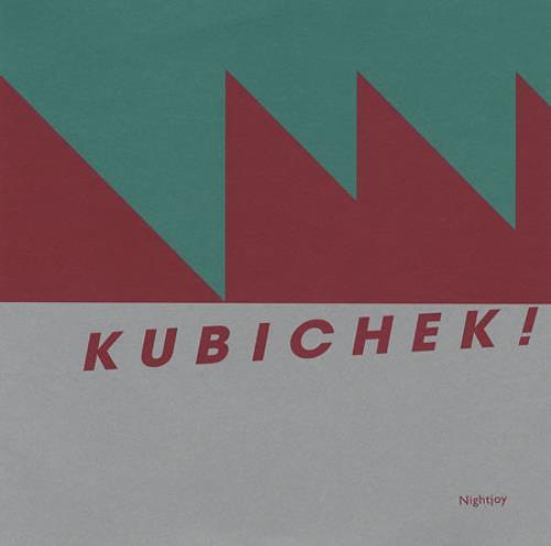 "Kubichek Nightjoy - Black Vinyl 7"" vinyl single (7 inch record) UK KB807NI359487"