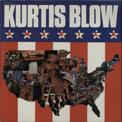 Kurtis Blow America vinyl LP album (LP record) Dutch KUWLPAM589212