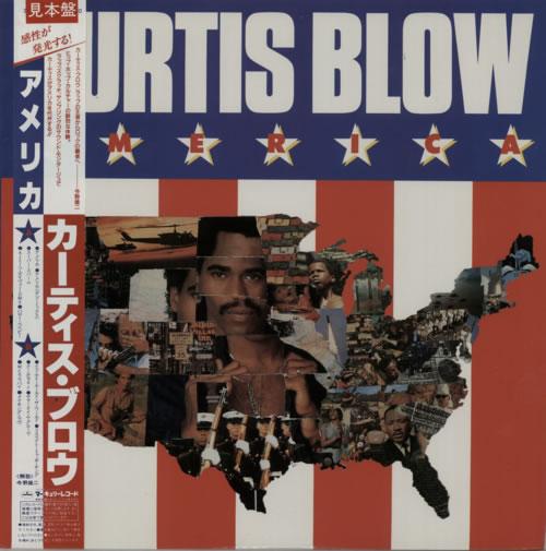 Kurtis Blow America vinyl LP album (LP record) Japanese KUWLPAM623422