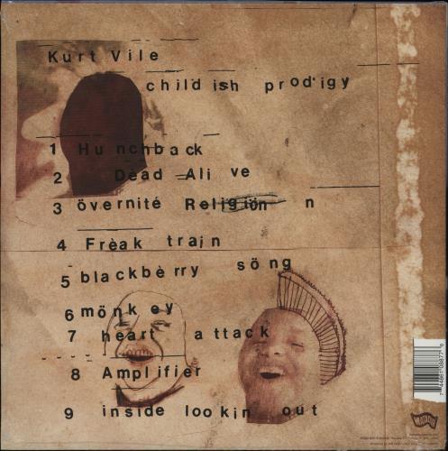 "Kurt Vile Childish Prodigy + 7"" vinyl LP album (LP record) US Q0RLPCH757149"