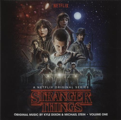 Kyle Dixon & Michael Stein Stranger Things - Volume One - Red & Blue Split 2-LP vinyl record set (Double Album) US O1L2LST675676