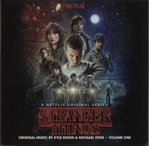Kyle Dixon & Michael Stein Stranger Things - Volume One & Volume Two - Glow In The Dark 4-LP vinyl album set (4 records) US O1L4LST675671