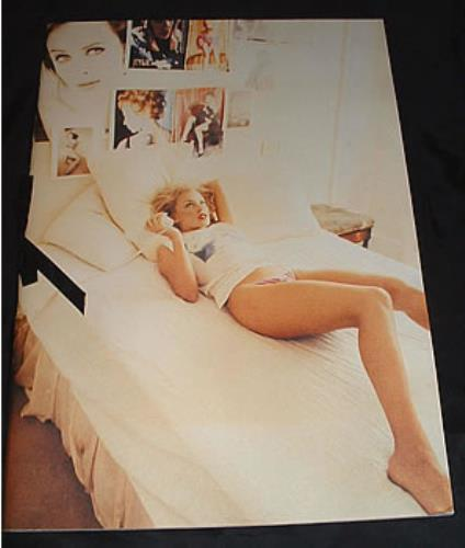 Kylie Minogue 1994 Book Sealed Uk Promo Memorabilia