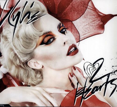 "Kylie Minogue 2 Hearts - CD1 CD single (CD5 / 5"") UK KYLC5HE570985"