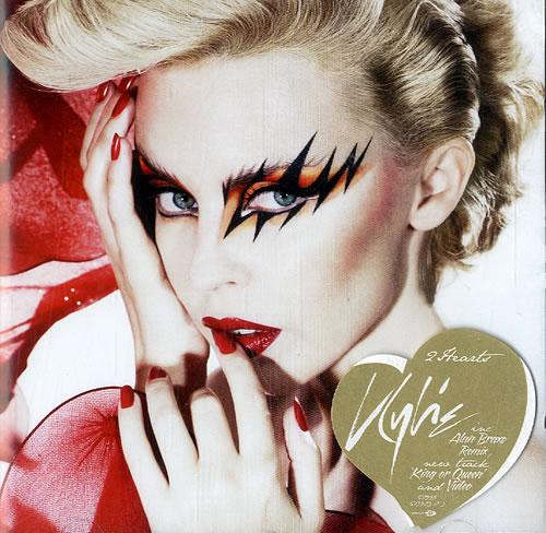 "Kylie Minogue 2 Hearts - CD2 CD single (CD5 / 5"") UK KYLC5HE505981"