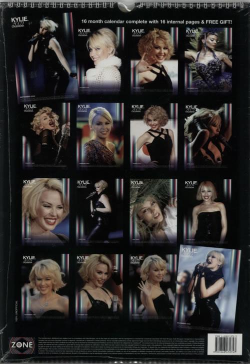 Kylie Minogue 2009 Calendar - 16 Month Calendar calendar UK KYLCACA606681
