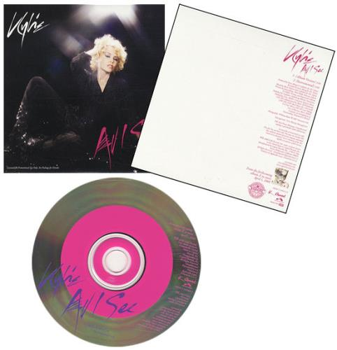 Kylie Minogue All I See US Promo CD single (CD5 / 5
