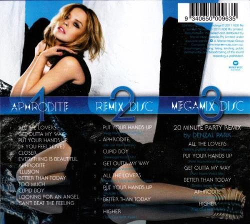 Kylie Minogue Aphrodite: Les Folies Tour Edition - Sealed 3-CD album set (Triple CD) Australian KYL3CAP556239