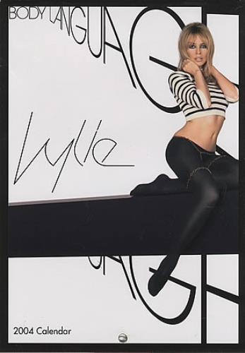 Kylie Minogue Body Language Calendar And Post It Notes Korean Cd Album Cdlp 315054