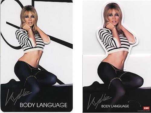 Kylie Minogue Body Language Cd Display Calendar Hong Kong Cd Album Cdlp 352942