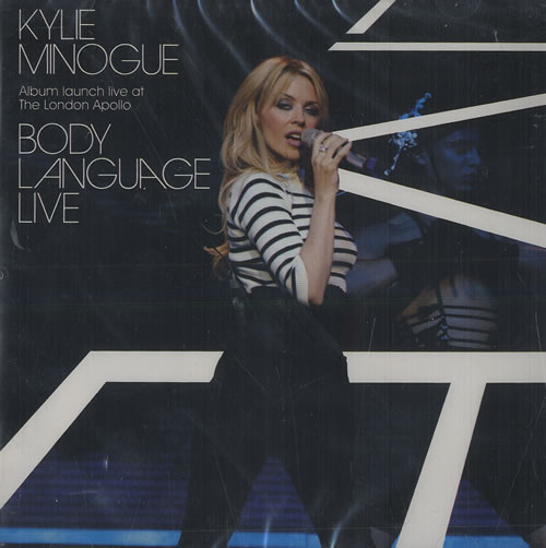 Kylie Minogue Body Language Live CD album (CDLP) Thailand KYLCDBO466360