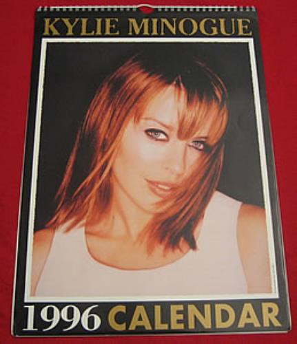 Kylie Minogue Calendar 1996 Australian Calendar 135280 Calendar
