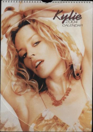 Kylie Minogue Calendar 2004 calendar UK KYLCACA251669