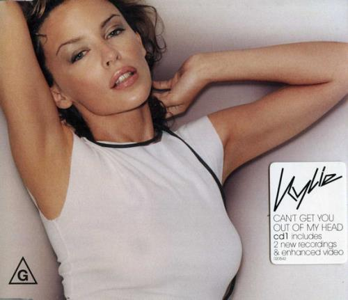 "Kylie Minogue Can't Get You Out Of My Head - CD1 CD single (CD5 / 5"") Australian KYLC5CA194475"