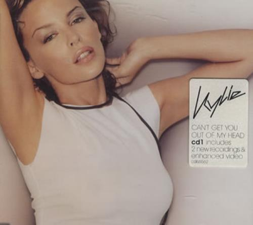 """Kylie Minogue Can't Get You Out Of My Head - CD1 CD single (CD5 / 5"""") UK KYLC5CA247530"""