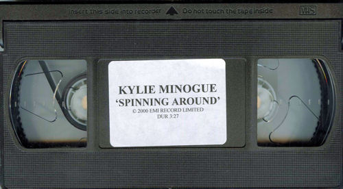 Kylie Minogue Can't Get You Out Of My Head video (VHS or PAL or NTSC) UK KYLVICA209535
