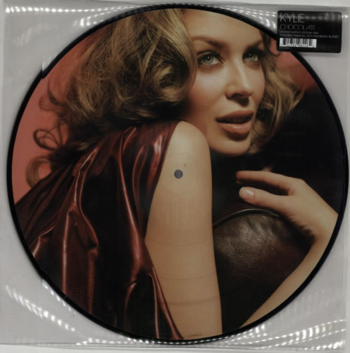 """Kylie Minogue Chocolate 12"""" vinyl picture disc 12inch picture disc record UK KYL2PCH290923"""