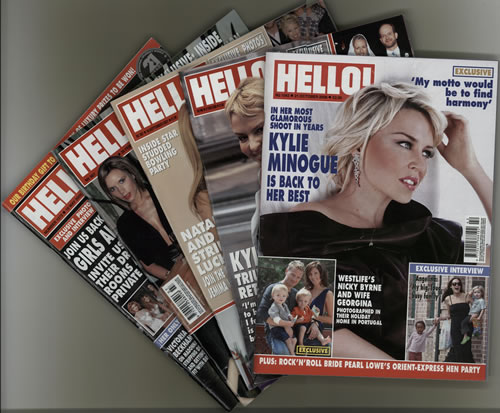 Kylie Minogue Collection of 7 Magazines magazine UK KYLMACO606294