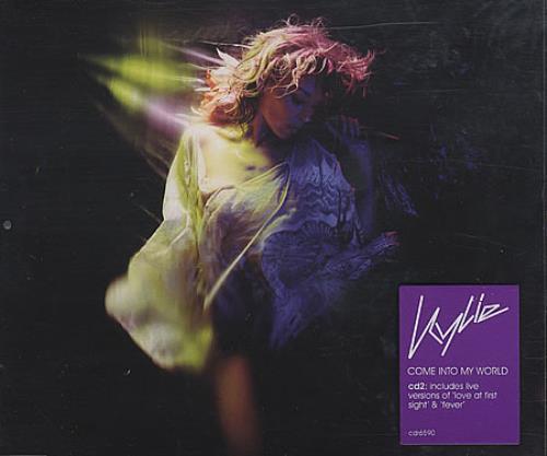 Kylie Minogue Come Into My World 2-CD single set (Double CD single) UK KYL2SCO224002