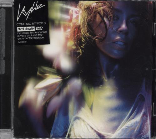 Kylie Minogue Come Into My World DVD Single UK KYLDSCO224003