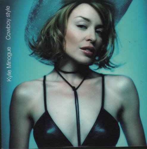 "Kylie Minogue Cowboy Style CD single (CD5 / 5"") Australian KYLC5CO118086"