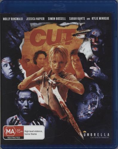 Kylie Minogue Cut Blu Ray DVD Australian KYLBRCU765327