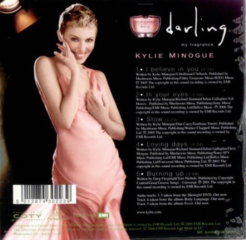 "Kylie Minogue Darling - The Exclusive CD CD single (CD5 / 5"") UK KYLC5DA420543"